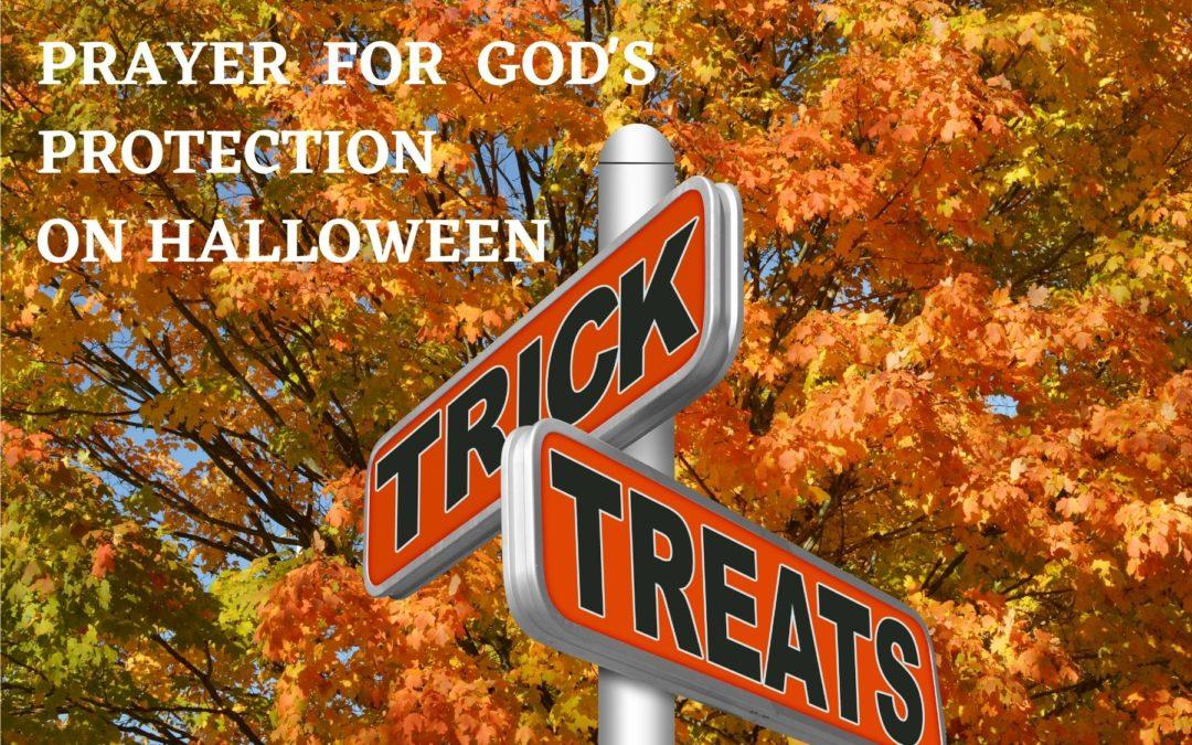 Prayer for Our Grandchildren at Halloween