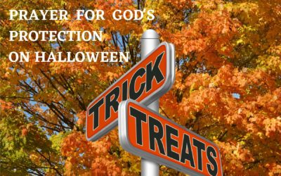 Prayer for Our Grandchildren at Halloween